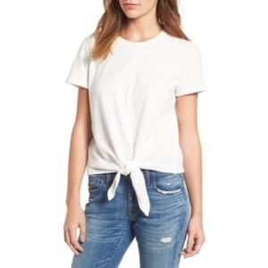 Madewell | Texture & Thread Modern Tie-Front Top